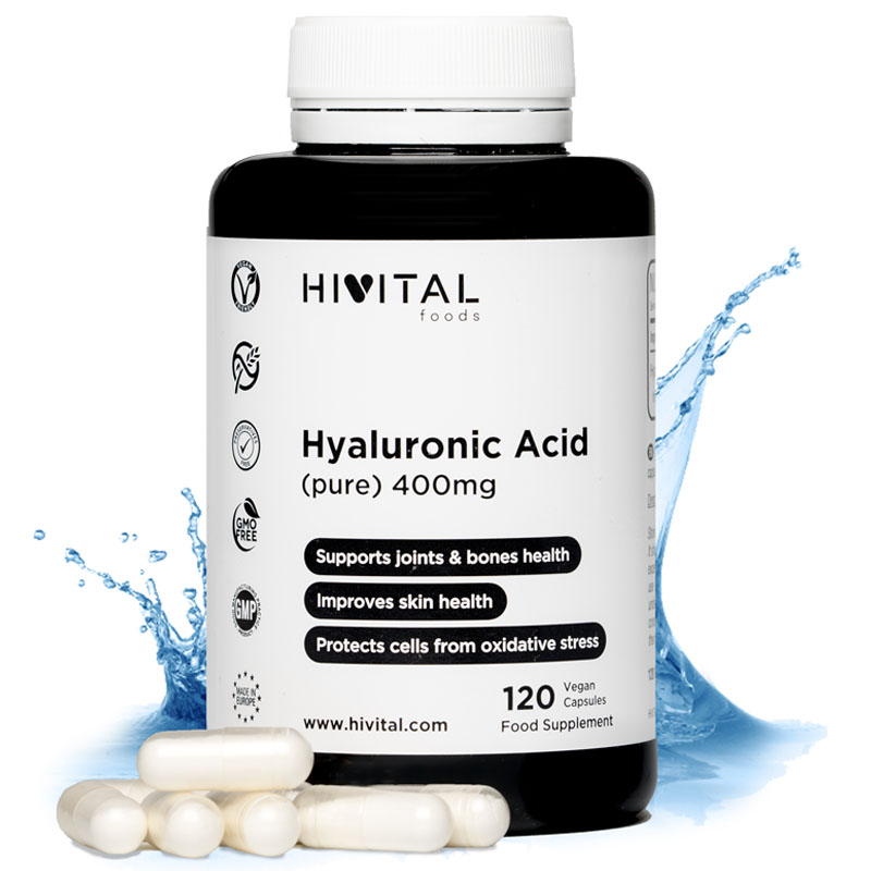 ▷ Hyaluronic Acid 400 Mg | 120 Vegan Capsules
