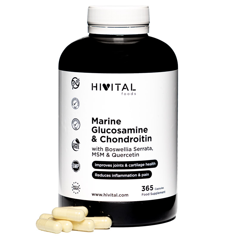 ▷ Glucosamine With Chondroitin | 365 Capsules
