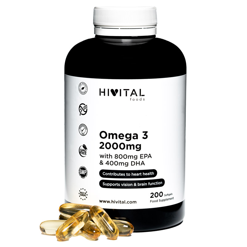 ▷ Omega 3 2000 Mg | 200 Softgels